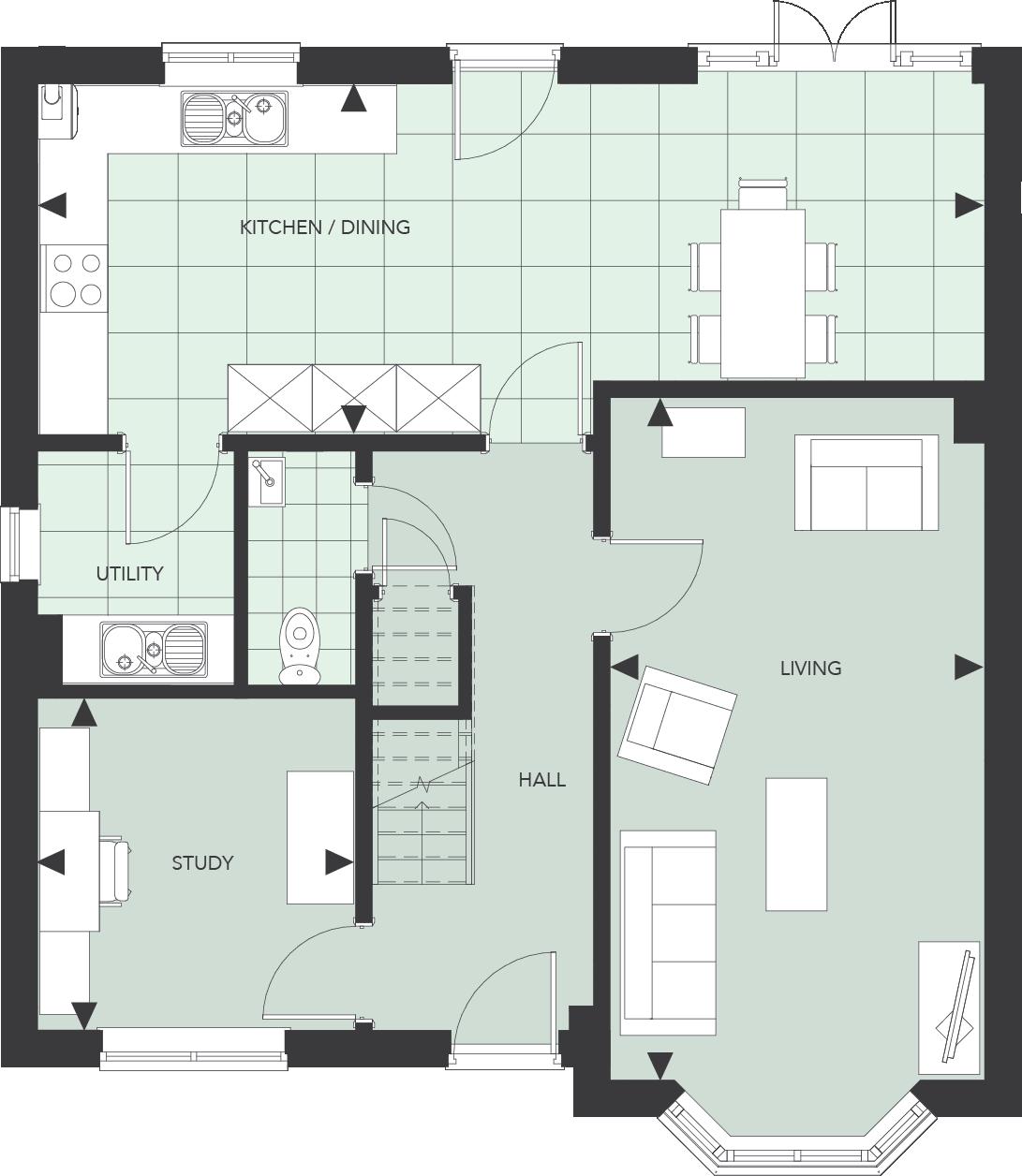 Juniper floor plan quarter house juniper drive battersea for Juniper floor plan